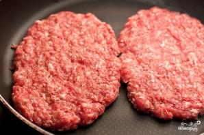 Домашний гамбургер с ржаным хлебом - фото шаг 6