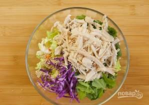 Салат из курицы без майонеза - фото шаг 3