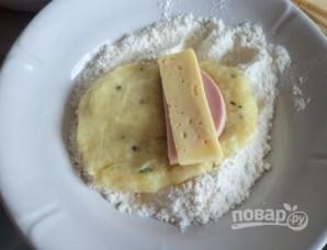 Картофельные пирожки с начинкой - фото шаг 6