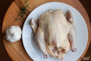 Курица на решетке гриль - фото шаг 1