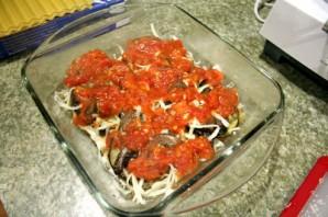 Лазанья с овощами и грибами - фото шаг 7
