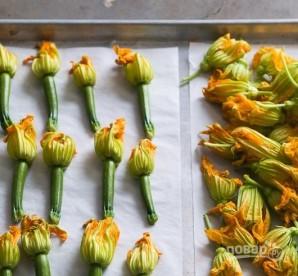 Овощные цветы с фаршем - фото шаг 1