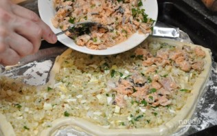 Пирог из рыбы - фото шаг 4