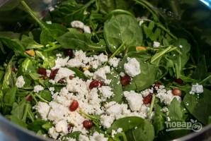 Салат со свеклой и рукколой - фото шаг 3