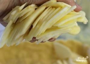 Яблочный пирог со сметанной заливкой - фото шаг 7