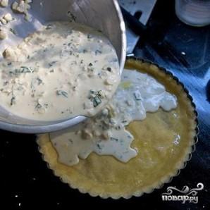 Тарт с кукурузой и базиликом - фото шаг 5