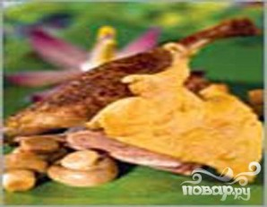 Утка хрустящая с сыром - фото шаг 6