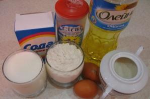 Блины на молоке и кефире - фото шаг 1