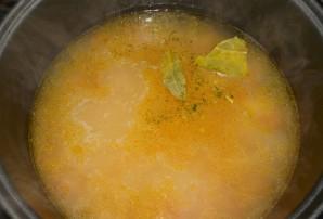 Суп с курицей в мультиварке - фото шаг 4