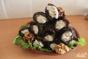Баклажаны с орехами - фото шаг 6