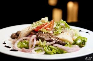 Салат с солеными груздями - фото шаг 6