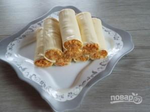 Закусочные сырные трубочки - фото шаг 4