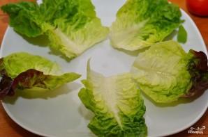 Салат-сендвич - фото шаг 2