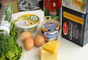 Каннеллони с рикоттой и шпинатом - фото шаг 1