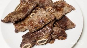Жареное мясо с овощами - фото шаг 2