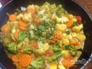 Овощи карри - фото шаг 9