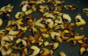 Паста с грибами в сливочном соусе - фото шаг 4
