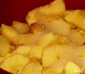 Куриный рулет с ананасом - фото шаг 1