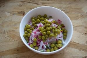 Салат быстрый и вкусный - фото шаг 3