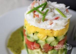 Салат из лангустов - фото шаг 12