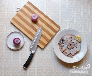 Конгрио с картофелем - фото шаг 1