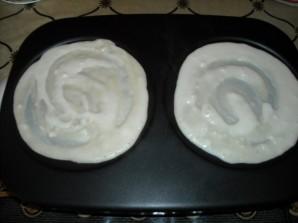 Блинчики на кефире с мясом - фото шаг 4
