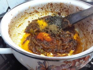 Рис с перепелиными яйцами - фото шаг 2