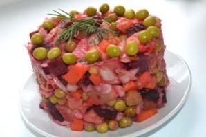 Салат из отварных овощей - фото шаг 9