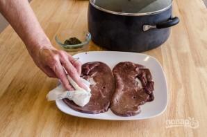 Печень в духовке - фото шаг 2