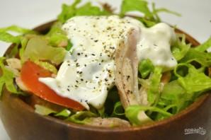 Салат с курицей и томатами - фото шаг 9