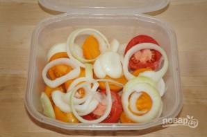 Ароматная закуска из помидоров - фото шаг 1