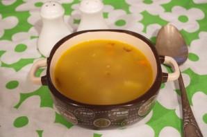 Суп с курицей гриль - фото шаг 5
