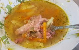 Суп из домашнего петуха - фото шаг 5