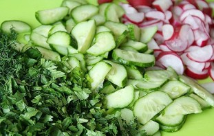 Салат с грибами шампиньонами консервированными - фото шаг 1