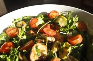 Теплый салат с телятиной - фото шаг 4