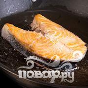 Жареный лосось в кокосовом молоке   - фото шаг 5