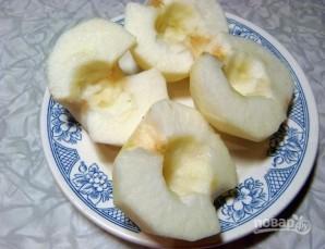 Заливная шарлотка с яблоками - фото шаг 3