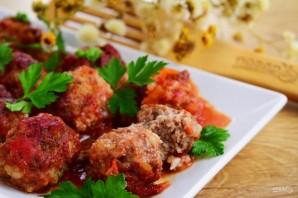 """Мясные тефтели """"Ностальгия"""" с рисом в томатном соусе - фото шаг 8"""