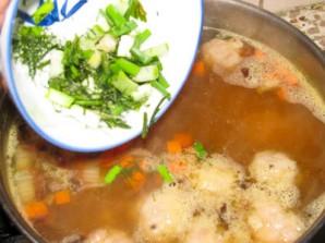 Мексиканский фасолевый суп с фрикадельками - фото шаг 4
