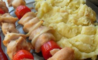 Куриный шашлык в духовке - фото шаг 3