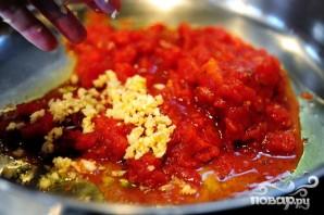 Креветки со спагетти - фото шаг 5