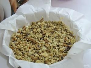 Пирог с фаршем и грибами на скорую руку - фото шаг 5