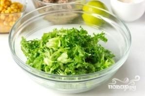 Салат из сардины в масле - фото шаг 2