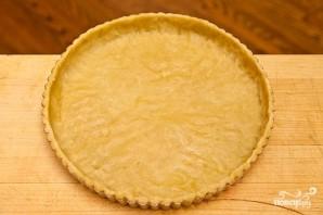Песочный пирог с персиками - фото шаг 6