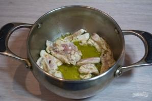 Куриный суп с лапшой в азиатском стиле - фото шаг 3