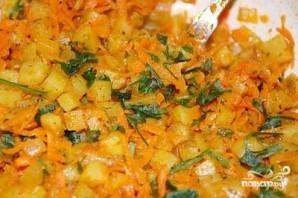 Вегетарианские чебуреки - фото шаг 4