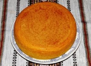 Торт бисквитный с фруктами - фото шаг 6