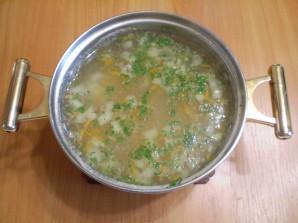 Рыбный суп с вермишелью - фото шаг 7