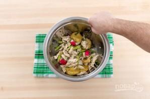 Салат с мясом курицы - фото шаг 6