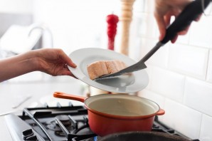 Стейк из семги в сливочном соусе - фото шаг 4